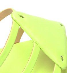 Sandália Mule Triangle Neon