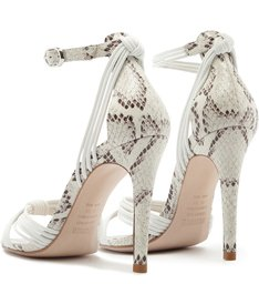Sandália Python Multistrap White