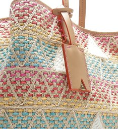 Shopping Bag Nina Triangle Summer Colors