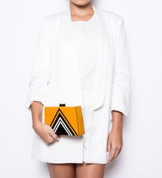 Clutch Retro Tina Yellow