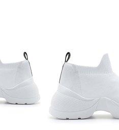 Tênis The Duo Knit White