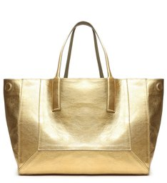 Shopping Bag Double Face Green/Gold