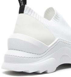Sneaker Square Knit White