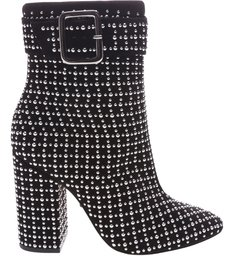 Glam Boot Crystal Black