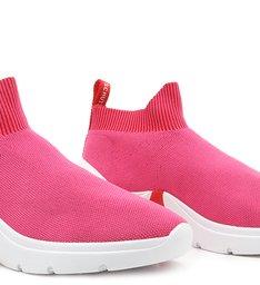 Tênis Knit Bold Pink