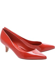 Scarpin Salto Médio Poppy Red