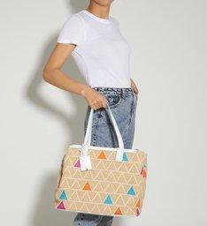 Shopping Bag Nina Triangle Summer Natural