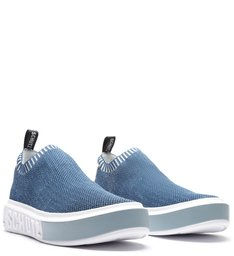 SNEAKER IT SCHUTZ KNIT DENIM