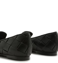 Loafer Trama Leather Black