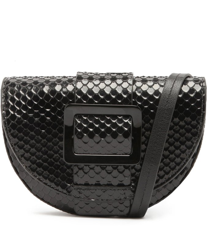 Belt Bag Buckle Bright Snake Black | Schutz