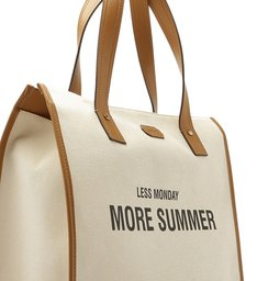 TOTE SUMMER VIBE NEUTRAL