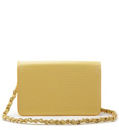 CROSSBODY LORENA CROCO YELLOW