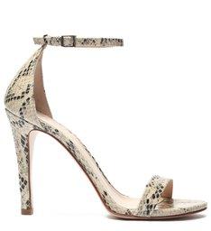 Sandália Gisele Snake Natural