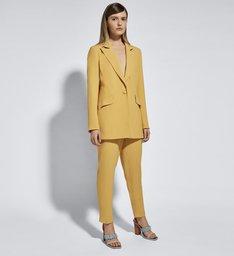 Ginger x Schutz Blazer Yellow