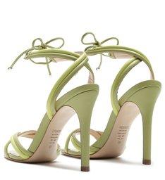 Sandália Salto Alto Strings Mellow Green