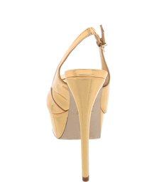 Sandália Sexy Back Spechio Ouro