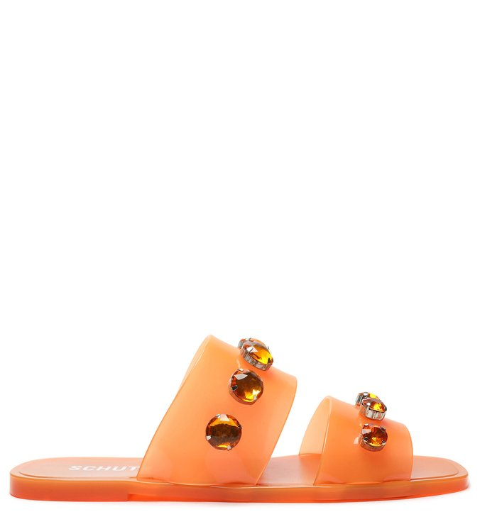 Slide Jelly Studs Tangerine