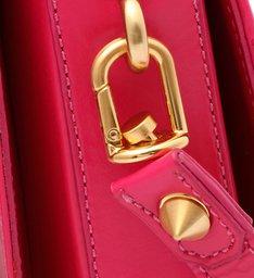 Bolsa Tiracolo Média Aria Matelassê Pink