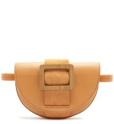POCHETE BUCKLE WOOD ORANGE