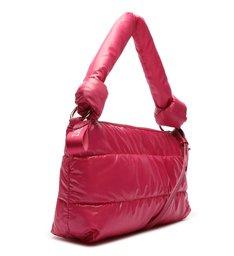 Bolsa Tiracolo Pequena Nylon 2 em 1 Pink Neon
