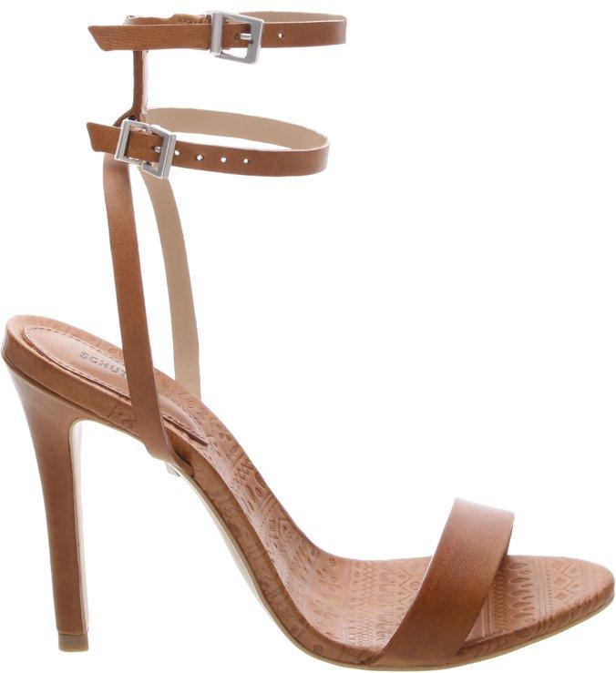 Sandália Minimal Double Belt Avelã