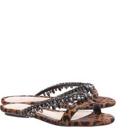 Flat Glam Wild Leopard