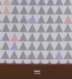 Classic Tote Triangle White