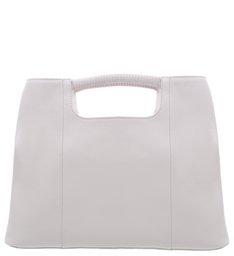 Hobo Dara Leather Cinza