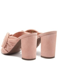 MULE CAMURÇA BUCKLE SWEET ROSE