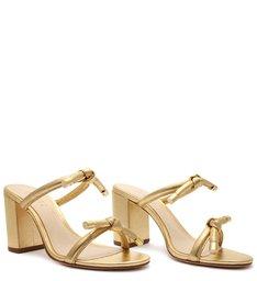 Sandália Mule Knots Gold