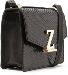 Crossbody Square Letters Black
