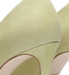 Scarpin Nobuck Green