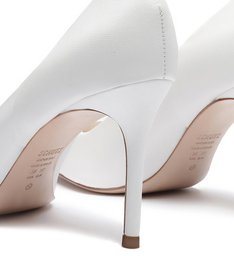Scarpin New Classic Mid Heel White