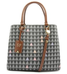 TOTE LARA NEW TRIANGLE BLACK