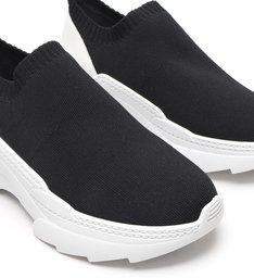 Sneaker Square Knit Black