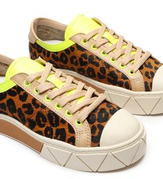 Tênis Urban Animal Print Neon