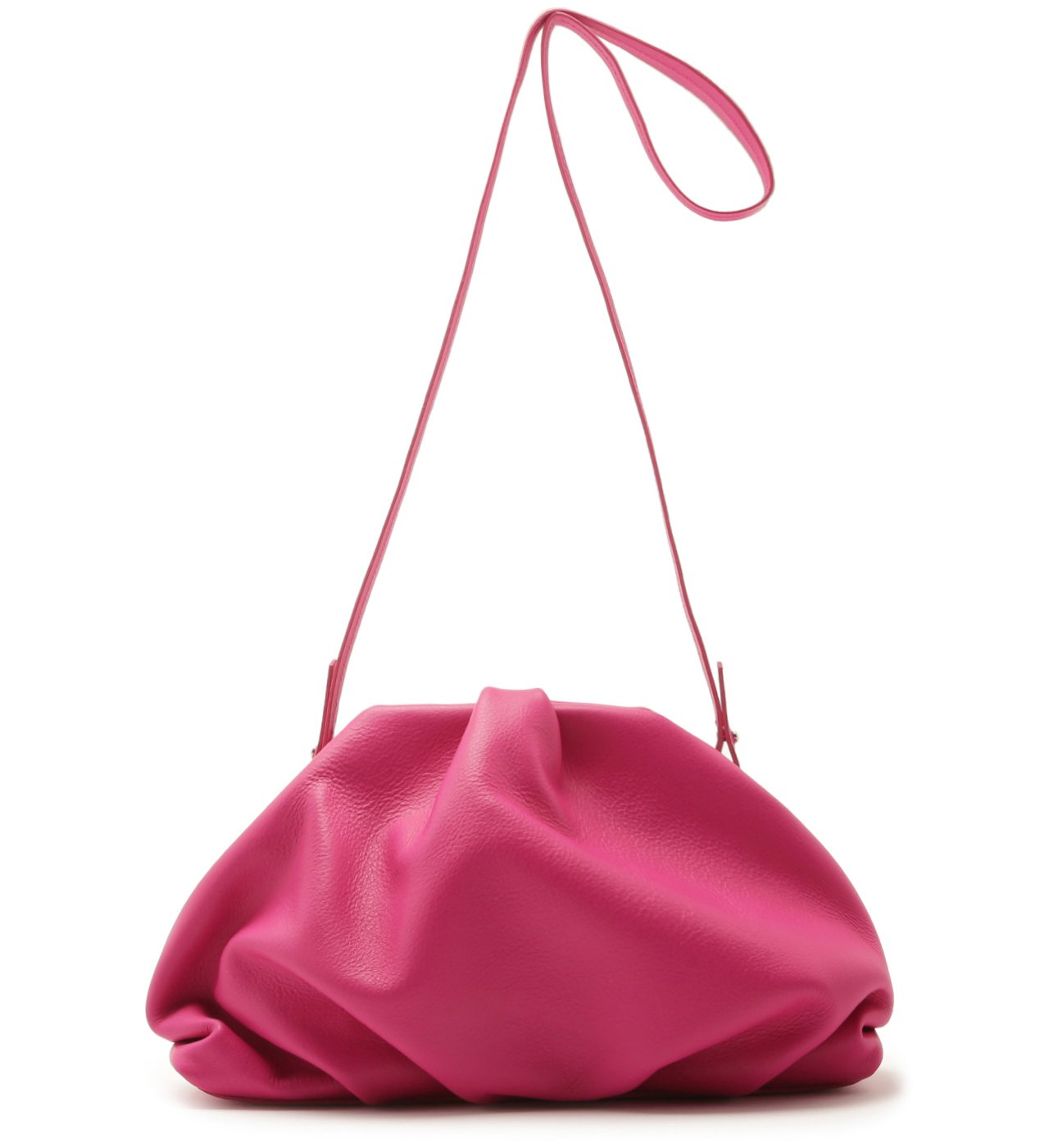 Clutch Avril Leather Pink | Schutz