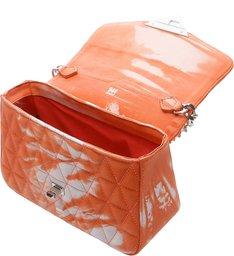 Mini Crossbody Bag Matelassê 944 Tie- Dye Orange