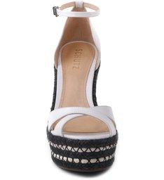 Sandália Plataforma Bicolor Pearl