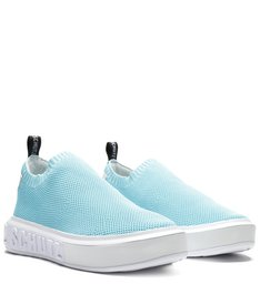 Sneaker It Schutz Knit Acqua