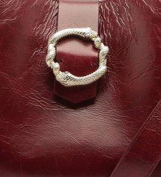 Handbag Buckle Cabernet