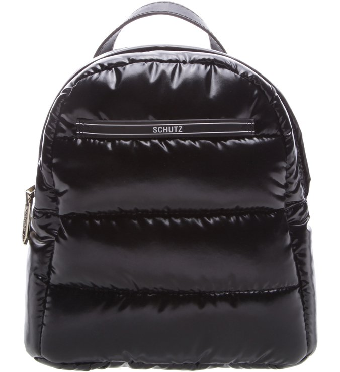 Mini Mochila Fluffy Black