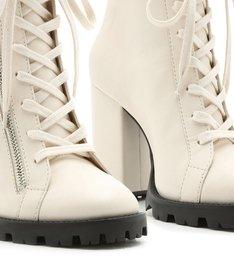 Combat Boot Salto Off White