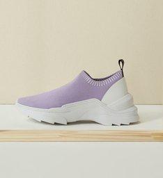 Sneaker Square Knit Violet