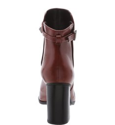 Bota Salto Grosso Studs Red Brown