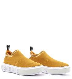 Tênis It Schutz Bold Knit Amarelo