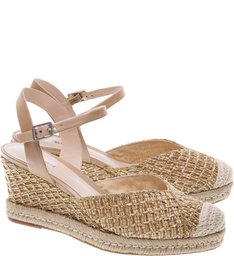 Sandália Texture Braid Desert