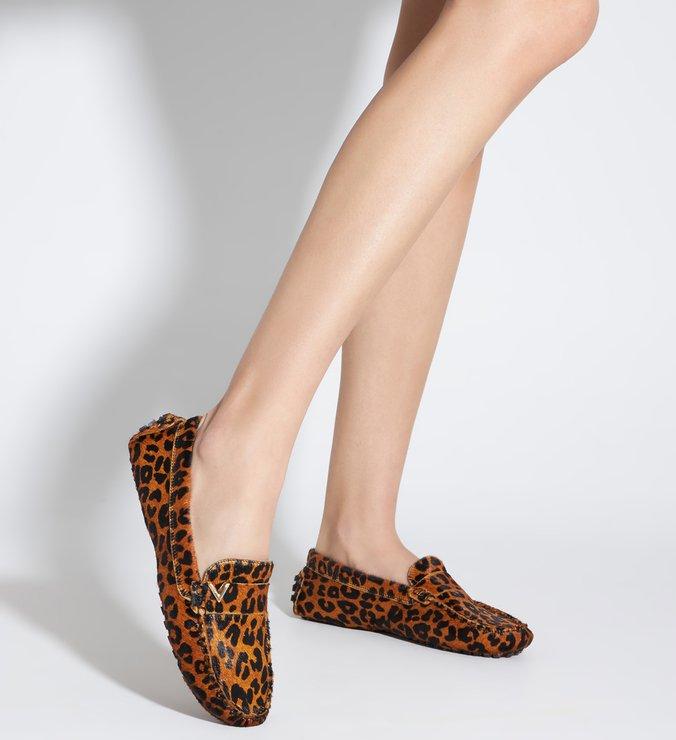 Sapato Mocassim Triangle Onça