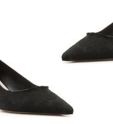 Scarpin Kitten Heel Pelo Black