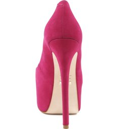 Scarpin Retrô  Diva High True Pink